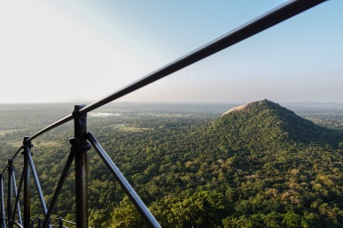 Sigiriya, View, Mountain, Lion Rock, Landscape