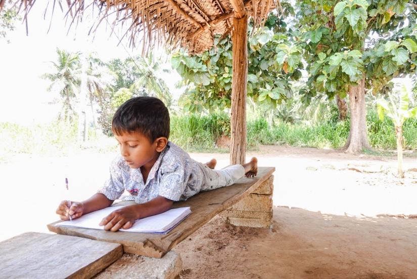 Sigiriya, Jungle, Sri Lankan Boy