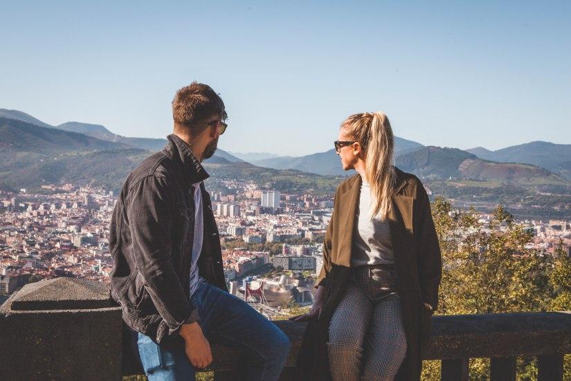 Artxanda Mountains, Bilbao, Spain, City, View
