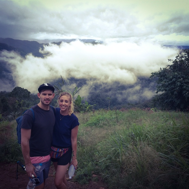 camping in the clouds Chiang Mai mountains thailand