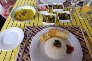 Happy Garden, Restaurant, Curry, Bentota, Sri Lanka