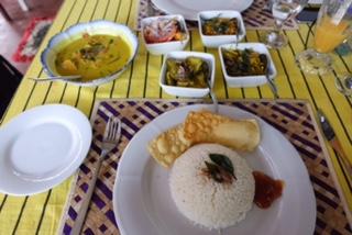 Happy Garden, Restaurant, Curry, Bentota, Sri Lanka