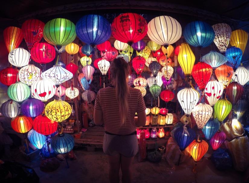 Exploring the colourful lanterns of Hoi An Vietnam
