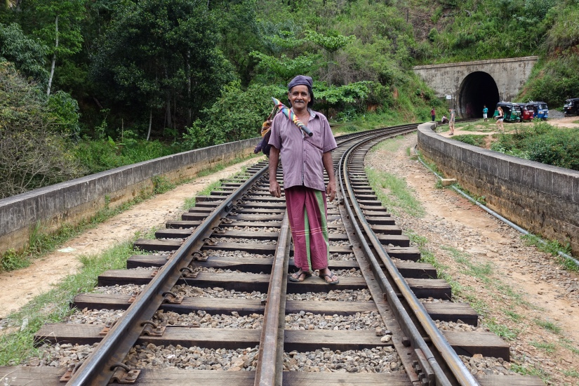 nine arches bridge Sri Lanka Train Track