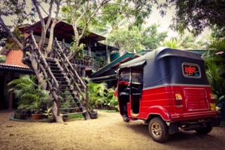 Tuk Tuk, Sigiriya, Sri Lanka