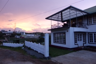 Tea Plantation, Nuwara Eliya, Hotel, Sunset