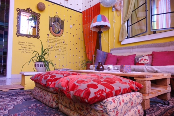 Splendid Guest House, Mellieha, Malta, Colours, Vibrant, Chill out, Hippy