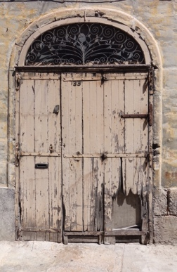 Arty Door, Rustic Design, Valletta, Malta