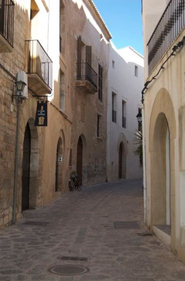 Ibiza Old Town, Streets, Cute, Peaceful, Spain
