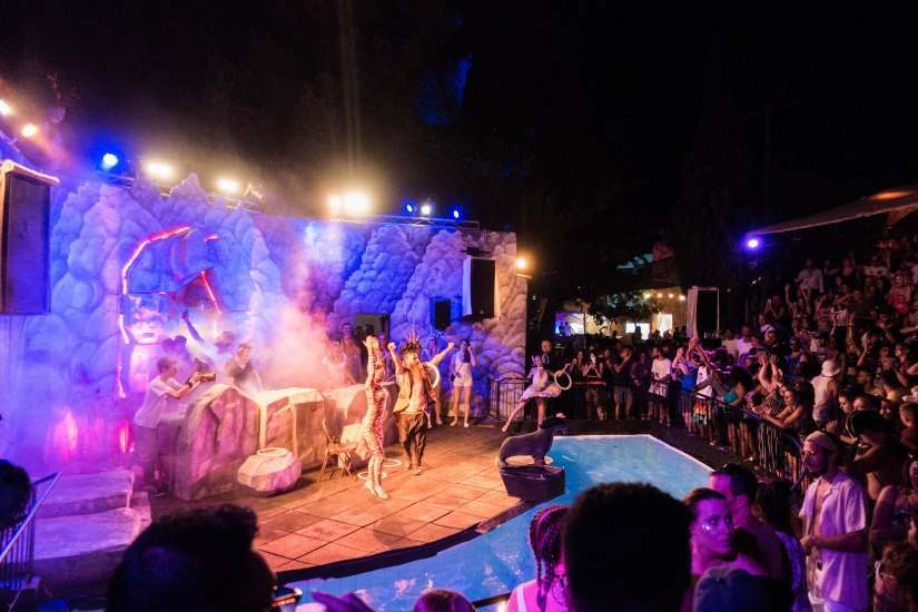 The Zoo Project, Ibiza, Amphitheatre performance, Characters