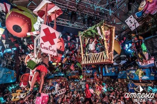 Elrow, Performance, Ibiza, Party, Amnesia, Club