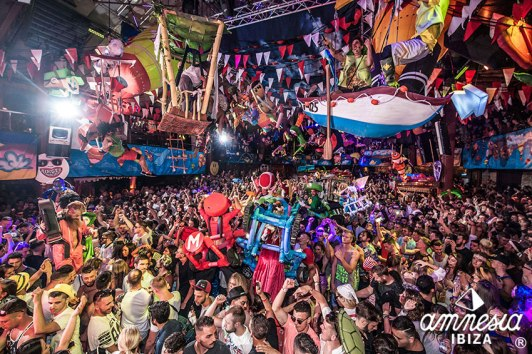 Elrow Ibiza, Show, Party, Colours, Amnesia Club