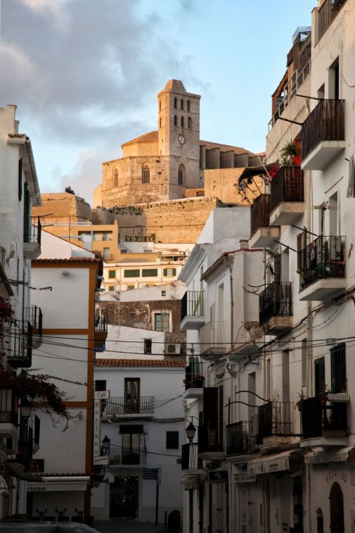 Ibiza, Streets, Old Town, Culture, Castle