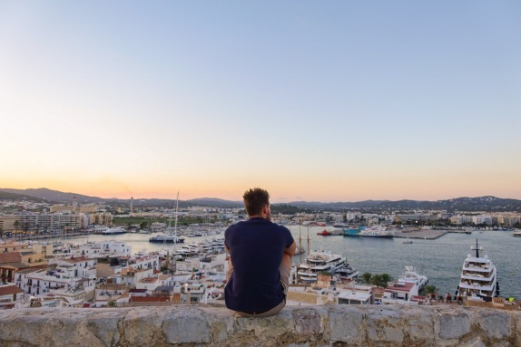 Ibiza Old Town, View, Sunset, Harbour, Peaceful, Cultured