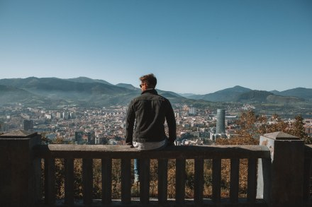 Mountain, skyline, Bilbao, View, Valley