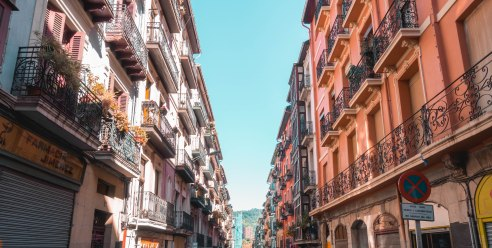 architecture, beautiful, Bilbao, City, Colourful