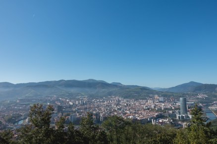 Artxanda Mountains, Bilbao, Spain, View