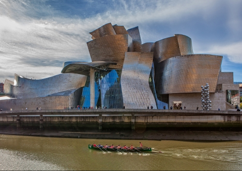 Architecture, Bilbao, Museum, Crazy designs, Spain, Europe