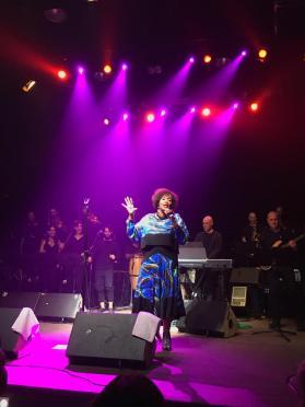 Singer, performance, soul festival