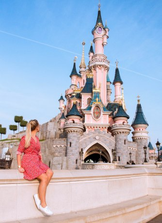 Disneyland, Castle, Dreams, Blue Sky, Magical, Paris