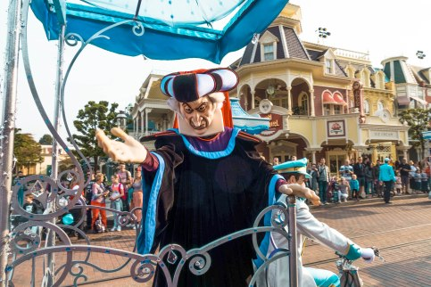 Disneyland, Paris, Jafar, Character, The Parade, Float
