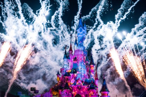 Disneyland, Paris, Fireworks, Display, Show, Illumination, Spectacular