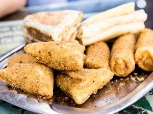 deep fried, samosas, Vietnam, Asia