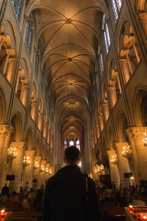 Cathedral, Notre Dame, Paris, Building, Inside, Architecture