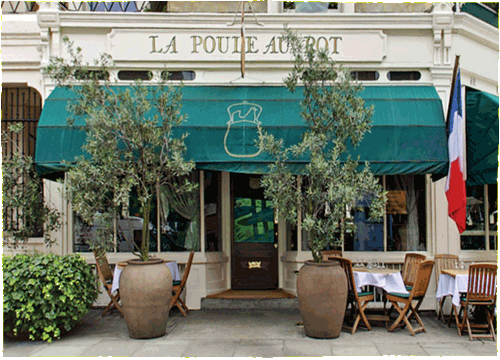 French restaurant, London, Sloane Square, top 5 restaurants