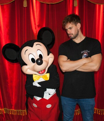 Mickey Mouse, Disneyland, Paris, Meet the stars,