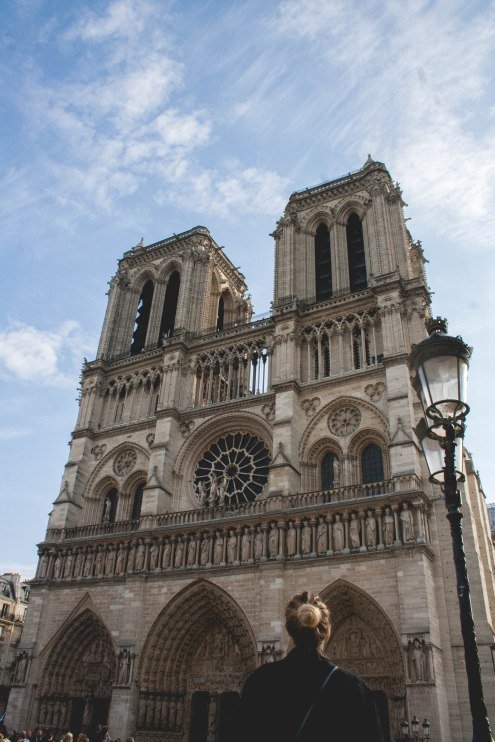 Paris, Cathedral, Notre Dame, Building, Beautiful