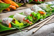 Vietnam, food, cuisine, spring rolls, beautiful