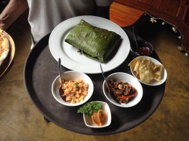 Restaurant, Food, Leaf, Rice, Meat, Bar