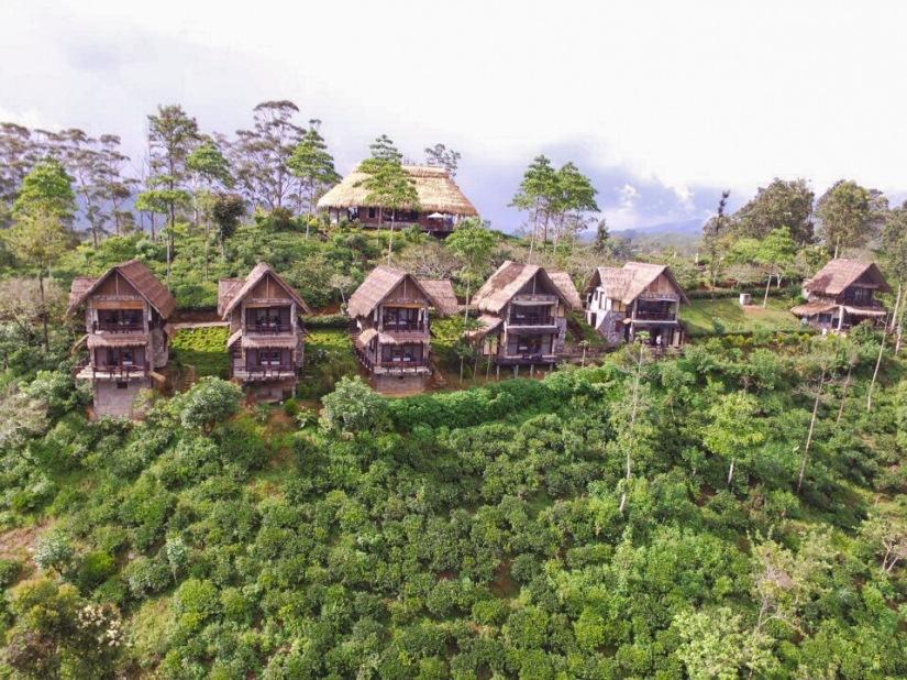 98 Acres Resort, Ella, Sri Lanka, Drone, Sky