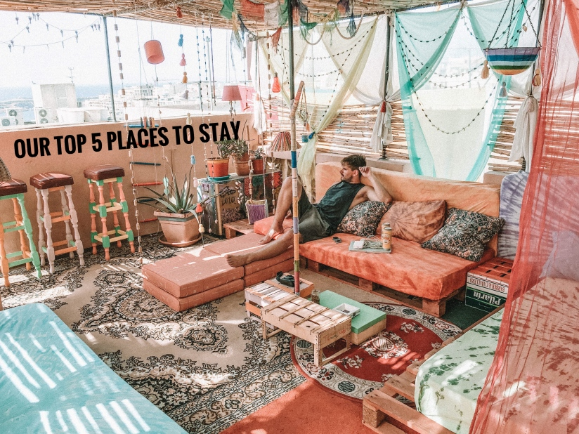 top places to stay