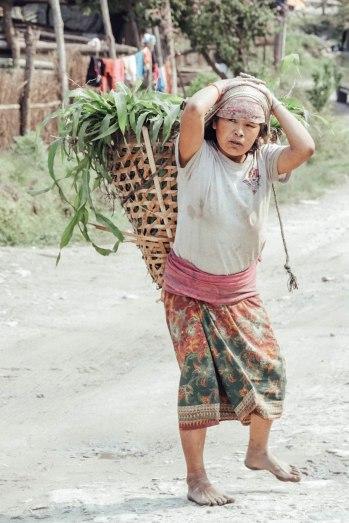 Nepal, Trek, Tadapani, Village, Annapurna, Salt and Coconuts, Local, Villager