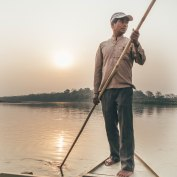 Boat Safari, Chitwan National Park, Nepal, Barahi Jungle Lodge, Find Louis