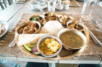Chicken Tarkari, Dahl, Curry, Nepal, Nepalese, yummy