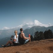Mountain Trekking, Nepal, Beautiful, Landscape, Views, Salt and Coconuts
