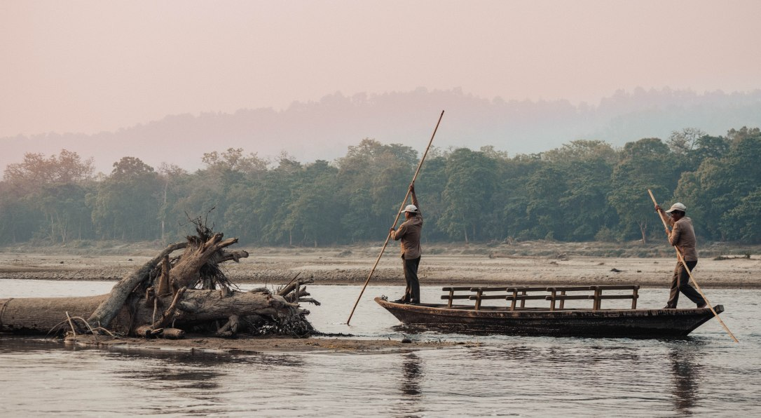 Boat, River, Rapti, Chitwan National Park, Barahi Jungle Lodge, Activity, Safari