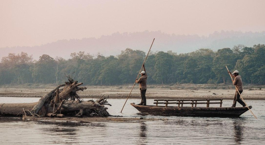 Boat, River, Rapti, Chitwan National Park, Barahi Jungle Lodge, Activity, Safari