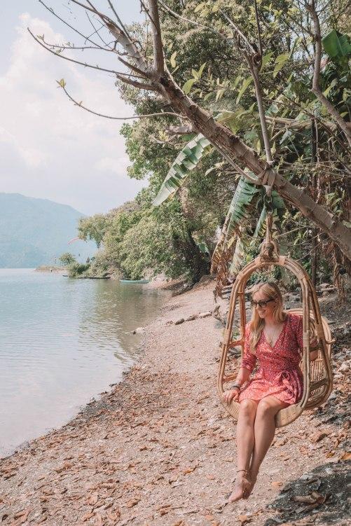Lakeside, Pokhara, Crazy Gecko Bar, Salt and Coconuts