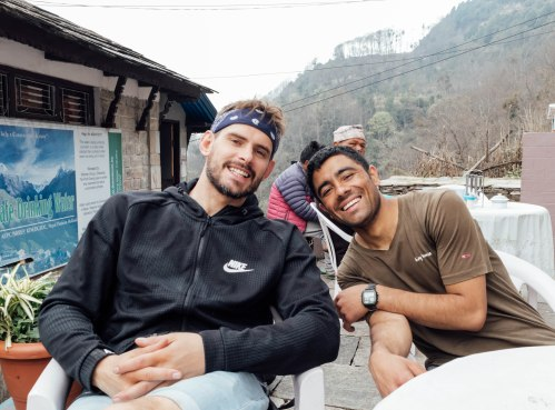 Ghorepani, Poon Hill Trek, Trekking, Nepal, Porter, Friend, Nepal