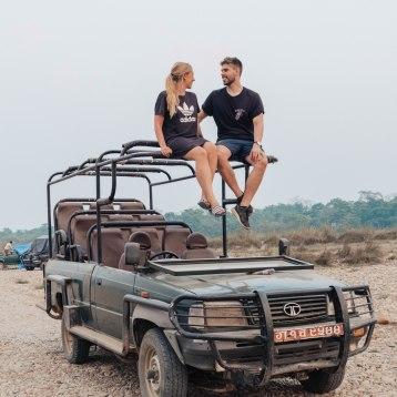 Jeep Sarafi, Barahi Jungle Lodge, Chitwan, National Park, Find Louis