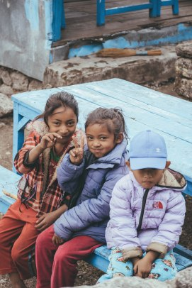 Children of Nepal, Trekking, Trek, Ghorepani, Nepal, Villagers