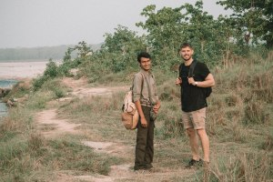 Naturist, Barahi Jungle Lodge, Nepal, Activities, Breakfast with elephants