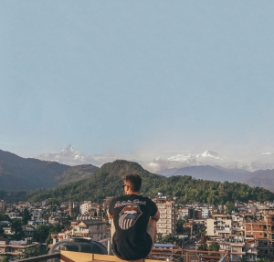 Pokhara, Mountains,
