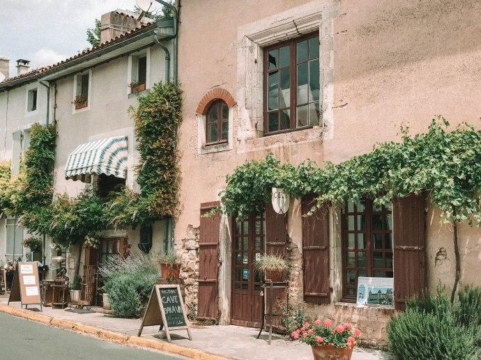 Le Moulin De Vertu, Village, France, Salt and Coconuts, Flowers, Architecture