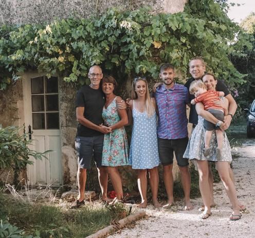 Salt and Coconuts, Family, France, Limalonges, Grandparents, Grandson,