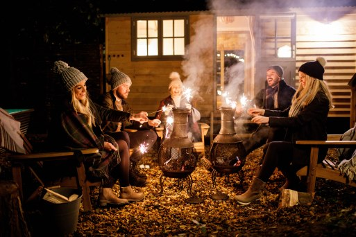 salt and coconuts, The Original Muck Boot Company, Photoshoot, Broadway, The Cotswolds, Love, Fire Pit, The Fish Hotel, Night